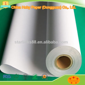 Hot Selling CAD Uncoated Plotter Paper in Roll pictures & photos
