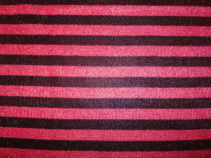 Bright Thread Rose Red Dots Bobby Knit Fabric pictures & photos