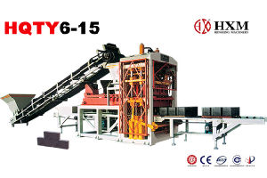Fully Automatic Block Making Machine Hqty6-15