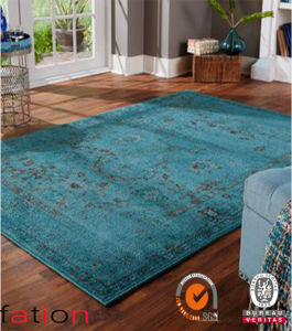 Latest Technology Machine Made Area Rugs Luxus Plain Shaggy Carpet pictures & photos