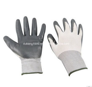 Nitrile Gloves/Working Gloves/Construction Gloves/Industry Gloves-62 pictures & photos