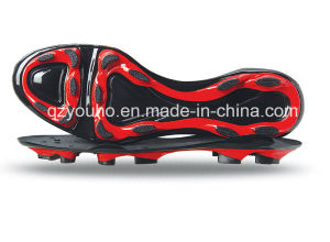 Mix Colors Factory Cheap Soccer Shoes Sole pictures & photos