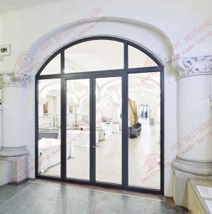 Durable Anodized PVDF Coated Arch Entry Door (BHA-DCA01) pictures & photos
