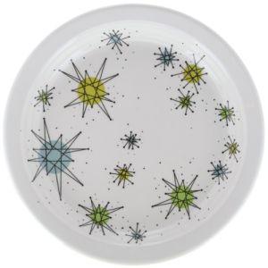 Atomic Starburst Boomerang Salad Plate Melamine Dinnerware pictures & photos