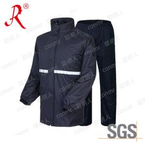 Tech Waterproof PVC Raincoat, Rain Suit (QF-766) pictures & photos