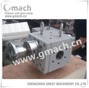 Plastic Extrusion Line Used Melt Gear Pump pictures & photos