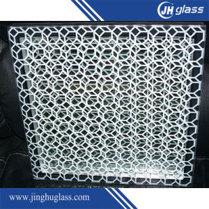 3-12mm Silk Screen Safety Glass for Wall Decoration pictures & photos