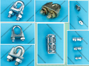 Us Type Malleable Iron Steel Wire Rope Clip pictures & photos