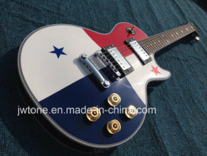 Hot Selling Star Inlay Arched Body OEM Water Transfer Lp Standard Electric Guitar Guitarra pictures & photos