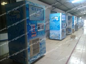 Water and Ice Vending Machine with Automatic Seal Bag Function