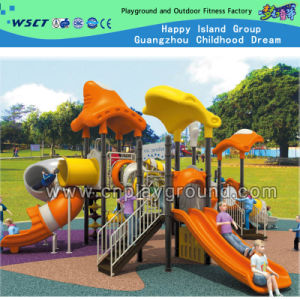 Plastic School and Commercial Outdoor Playground Equipment on Stock (HD-1102) pictures & photos