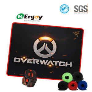 Wholesale Gaming Mouse Pad with Stitched Edge Custom pictures & photos