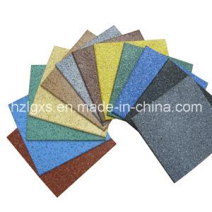 EPDM Granules Rubber Flooring Tiles Rubber Mats, Rubber Carpet pictures & photos