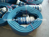 PVC Layflat Hose with Bauer Coupling pictures & photos