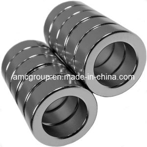 Nm-39 Permanent NdFeB Magnet Ring From China pictures & photos