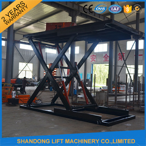 3t 3m Hydraulic Automotive Scissor Car Lift Platform with Ce pictures & photos