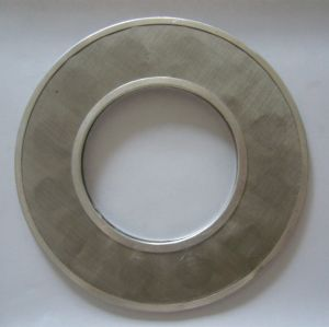20 Micron 0.2 Micron Stainless Steel Plastic Extruder Wire Mesh Filter Disc pictures & photos