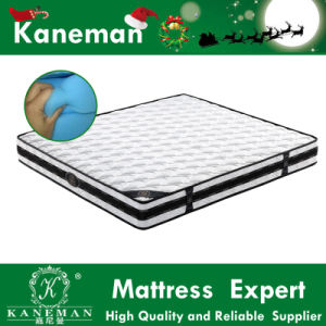 Tight Top Soft Foam Upholster Contiuous Spring Hotel Mattress Customized Size pictures & photos