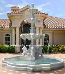 Garden Decorative Stone Sculpture Marble Fountain (SY-F104) pictures & photos