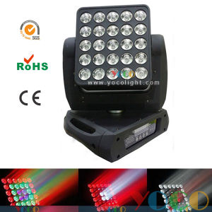 25*12W LED CREE Matrix Beam Moving Head Disco Stage Lighting