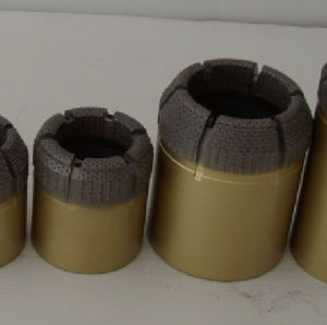 Long Life Wire Line Nq Hq Bq Impregnated Diamond Core Bit pictures & photos