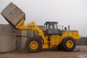 Granite Block Handler Machine Xj988-40 Vs Cat 988h pictures & photos
