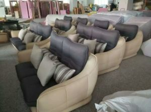 White Modern Design Leather Sofa, Factory Price Good Quality (621) pictures & photos