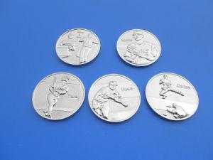 Silver Baseball Souvenir Challenge Coin Metal Coin (ASNY-LZ-MC001) pictures & photos