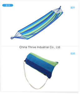 Outdoor Leisure Portable Cotton Camping Hammock pictures & photos