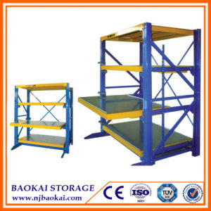 Factory Price Drawer Mold Rack, ISO9001 Storage Steel Mould Rack