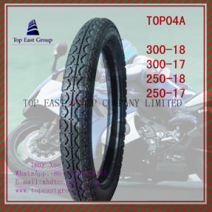 Size 300-18, 300-17, 250-18, 250-17 High Quality Nylon 6pr Motorcycle Tire pictures & photos