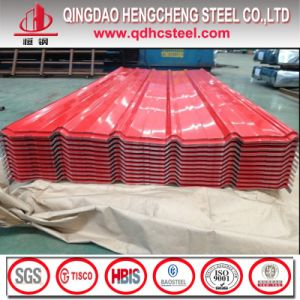 PPGI Prepainted Steel Galvanized Corrugated Roofing Sheet pictures & photos