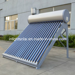 Color Steel Integrated Non-Pressurized Solar Thermal Water Heater pictures & photos