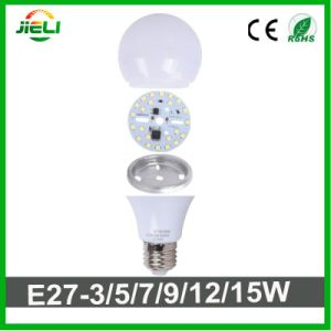 No Driver SMD2835 AC200-240V 9W LED Bulb pictures & photos