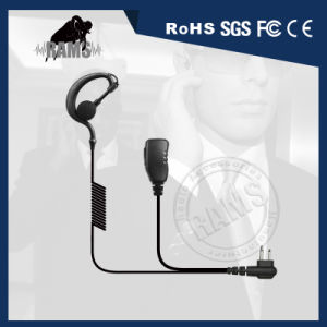 Earpiece Push to Talk Two Way Communications Earphone Earhook Inline Ptt for Kenwood Two Way Radios pictures & photos