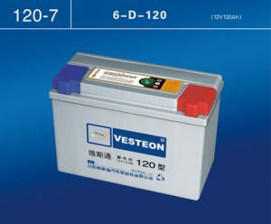 High Quality Vesteon Brand Dry Charge Auto Battery pictures & photos
