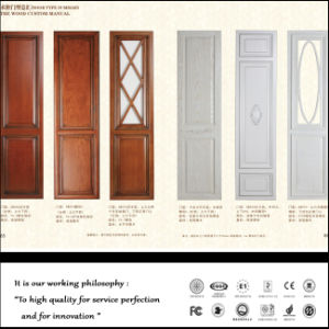 White PVC Kitchen Cabinet Doors with Many Desighs pictures & photos