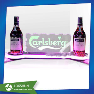 Hot Sale Desk Top Acrylic LED Display Stand LED Wine Holder pictures & photos