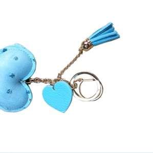 PU Leather Soft Keychain, Keyring Leather, Car Keychain, Keyholder (KY67) pictures & photos