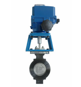 Professional Manufacturer of Electric Adjustable Butterfly Valve pictures & photos