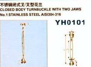 Yh0101 Closed Body Turnbuckle with Two Jaws pictures & photos