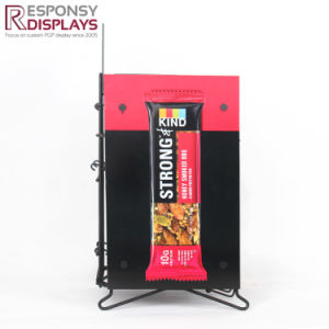 Customized Snack Displayer with Graphic in Supermarket pictures & photos