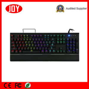 Mechanical Keyboard Backlit with Blue Switch Gaming Keyboard pictures & photos
