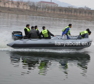 Liya 4.7m Military Inflatable Rescue Boat for Sale pictures & photos