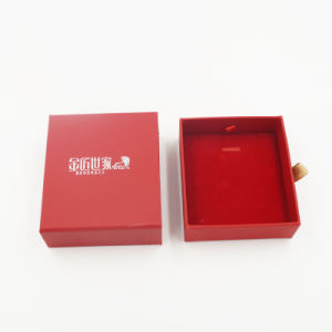 Silver Printing Pull-out Drawer Storage Box for Pendant (J64-B1) pictures & photos
