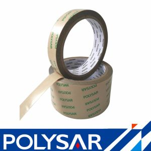Clear Pet Adhesive Tape with Kraft Paper pictures & photos