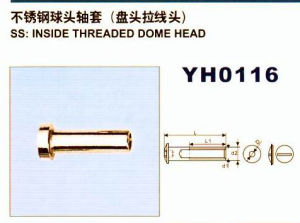 Stainless Steel Inside Threaded Dome Head pictures & photos