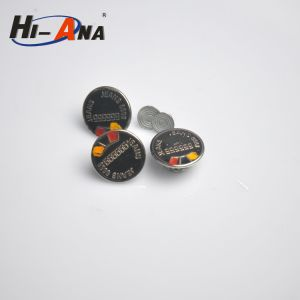 SGS Proved Products Various Colors Jeans Fabric Button pictures & photos