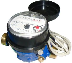 Single Jet Water Meter (D3-5+4) pictures & photos