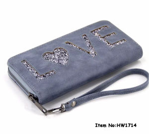 2018 Fashion Women PU Leather Wallet (HW1714) pictures & photos